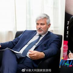Interprete x Sig. Giorgio Palmucci il presidente di ENIT
